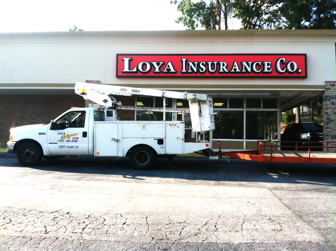 Loya insurance co lee signs for Home under construction insurance